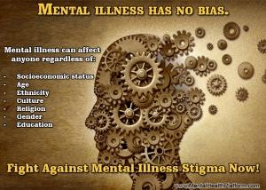 16 April 2014  Mental Ilness Has no Bias