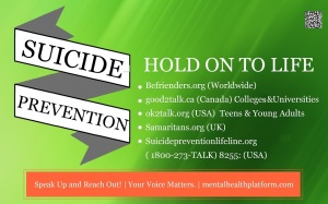 10 September 2014  Suicide Prevention (2)
