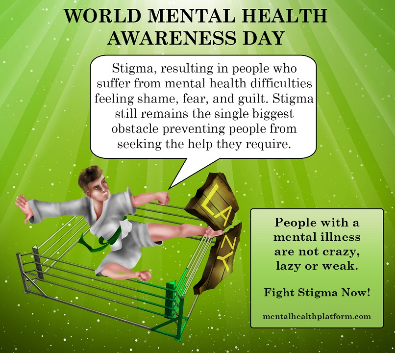 world mental health awareness day 2014 mental perspective