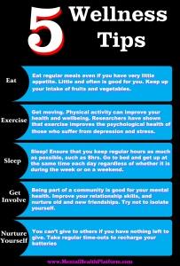 13 April 2013 Wellness Tips