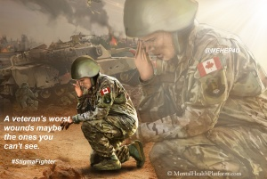Canadian Soldier PTSD Remembrance day 4