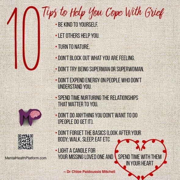 December 13 - Ten Tips to cope Griefsample