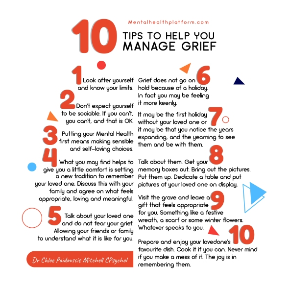10 Tips to manager grief